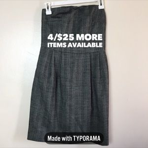 4/$25 Express Design Studio | Strapless Dress